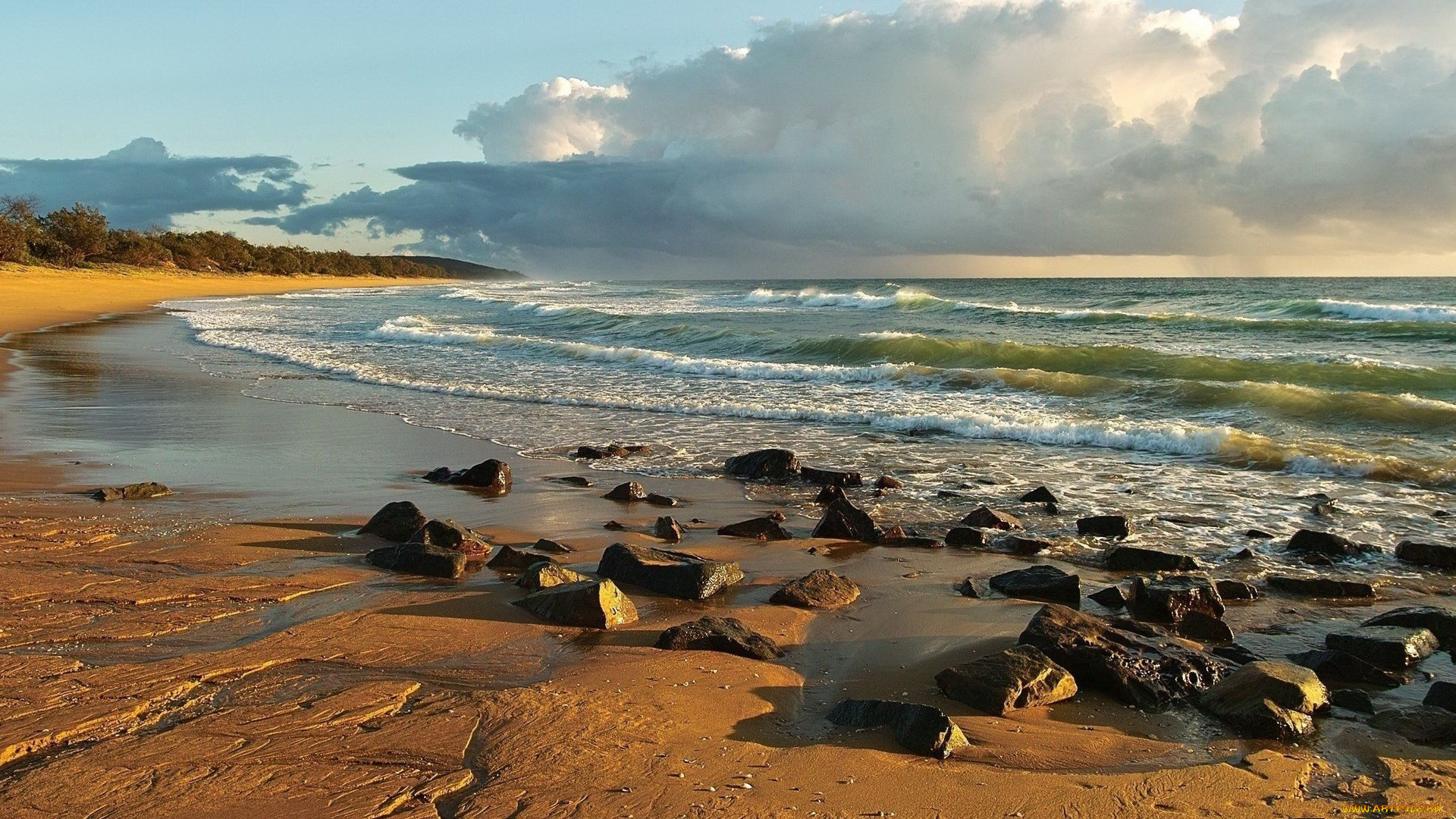 морского картинки песчаного берега и океана бумаги прекрасная идея